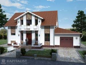 Готовые проекты частных загородных домов купить - Авиньон