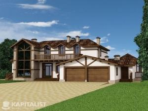 Готовые проекты частных загородных домов купить - Бавария