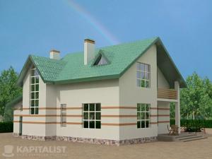 Готовые проекты частных загородных домов купить - Тамань