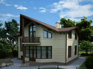 Готовые проекты частных загородных домов купить - Марсель