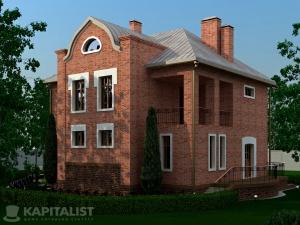 Готовые проекты частных загородных домов купить - Бристоль