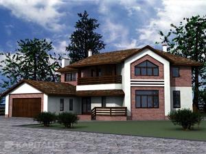 Готовые проекты частных загородных домов купить - Мемфис
