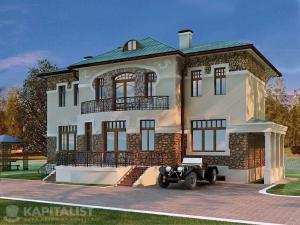 Готовые проекты частных загородных домов купить - Парма